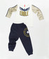 2pc eagle print cotton blend outfit set Sale - ollie&olla Sale