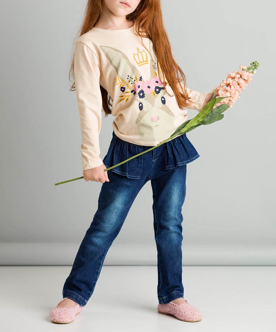2pc rabbit print cotton blend outfit set Sale - ollie&olla