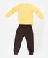 2pc monkey print cotton blend outfit set Sale - ollie&olla Sale