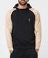 Tuesday black & sand cotton blend hoodie Sale - religion Sale