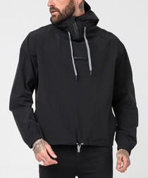 Halk half-zip high neck jacket