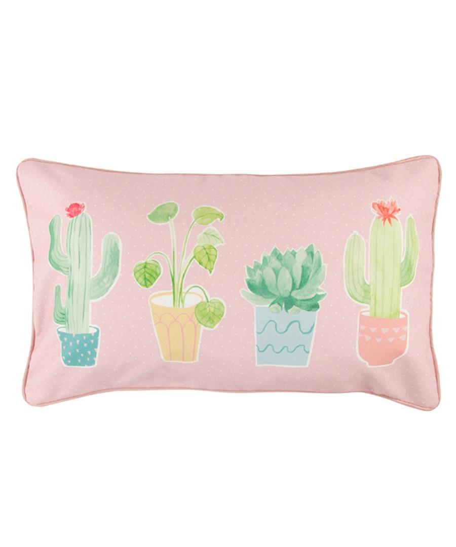 Pink cactus cushion  Sale - sass & belle