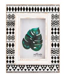 Tribal print photo frame