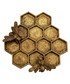 Gold-tone honey bee hive jewellery dish Sale - sass & belle Sale
