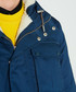 Men's navy pure cotton insulated anorak Sale - hunter Sale