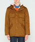 Men's camel pure cotton insulated anorak Sale - hunter Sale