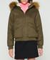 Women's khaki pure cotton parka jacket Sale - hunter Sale