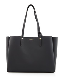 Freya black shoulder bag