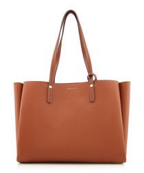 Freya tan shoulder bag