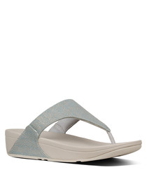 Lulu pearl toe-thong sandals