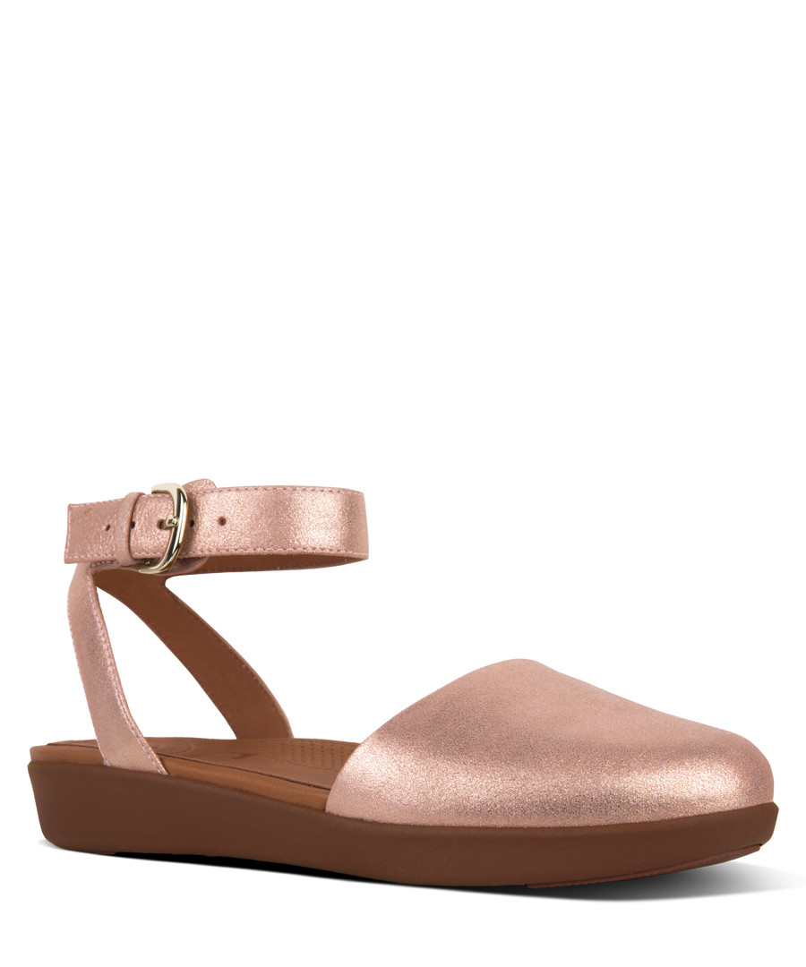Apple blossom cova glimmer suede sandals Sale - fitflop