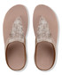 Nude fringed metallic sandals Sale - fitflop Sale