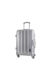 Vilarosa silver spinner suitcase 56L