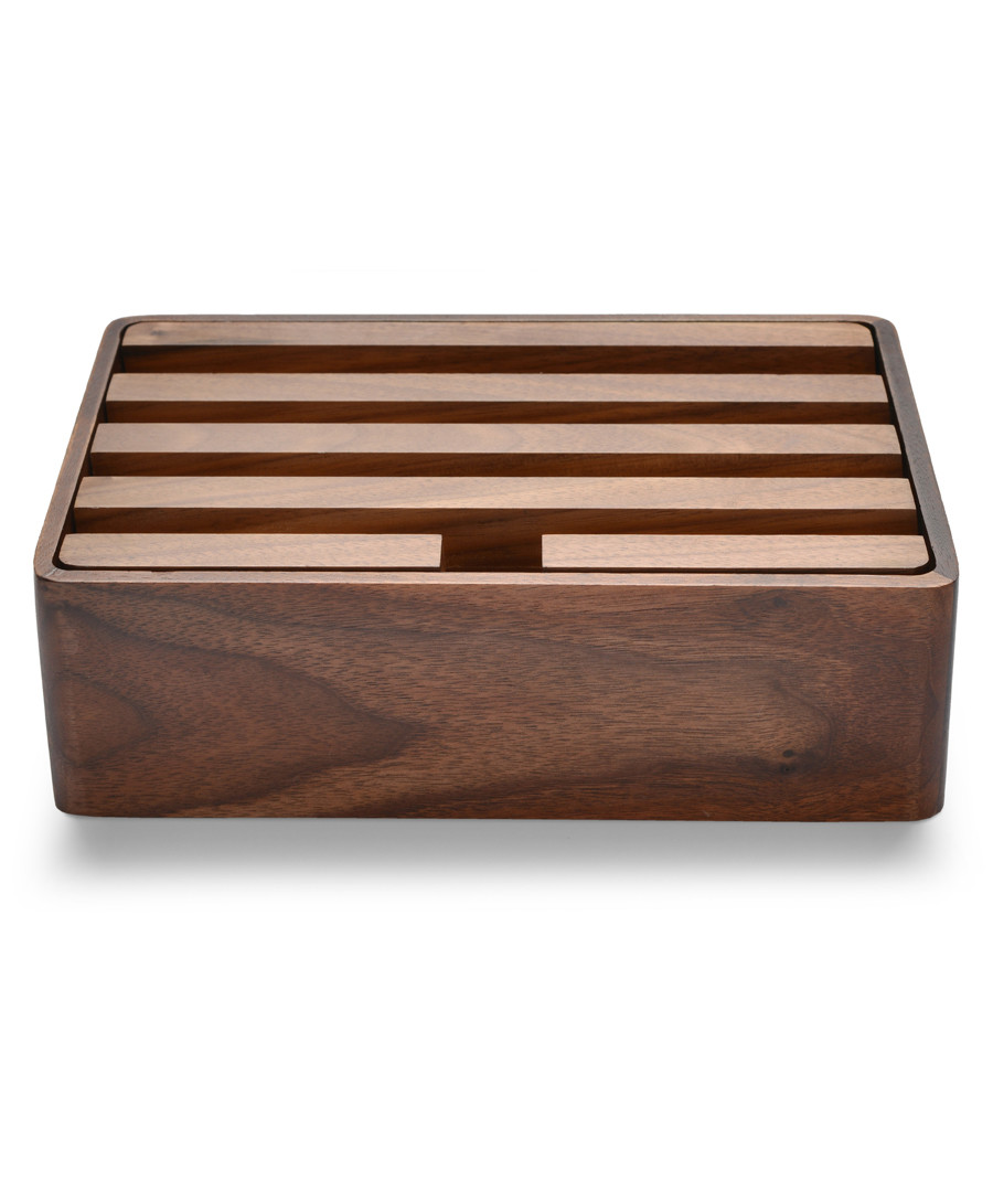 3.0 walnut multi-device docking station Sale - alldock