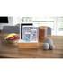 3.0 bamboo & white multi-device dock Sale - alldock Sale