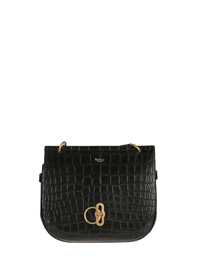 59cc577a3c Amberley black leather crossbody Sale - mulberry ...