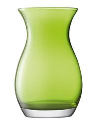 Lime green glass vase 20cm