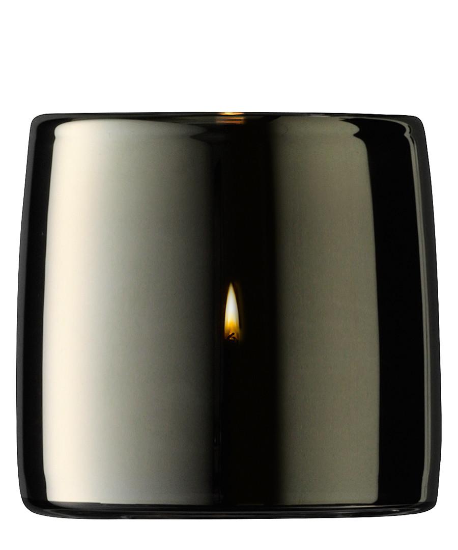 Metallic glass tealight holder 8.5cm Sale - lsa