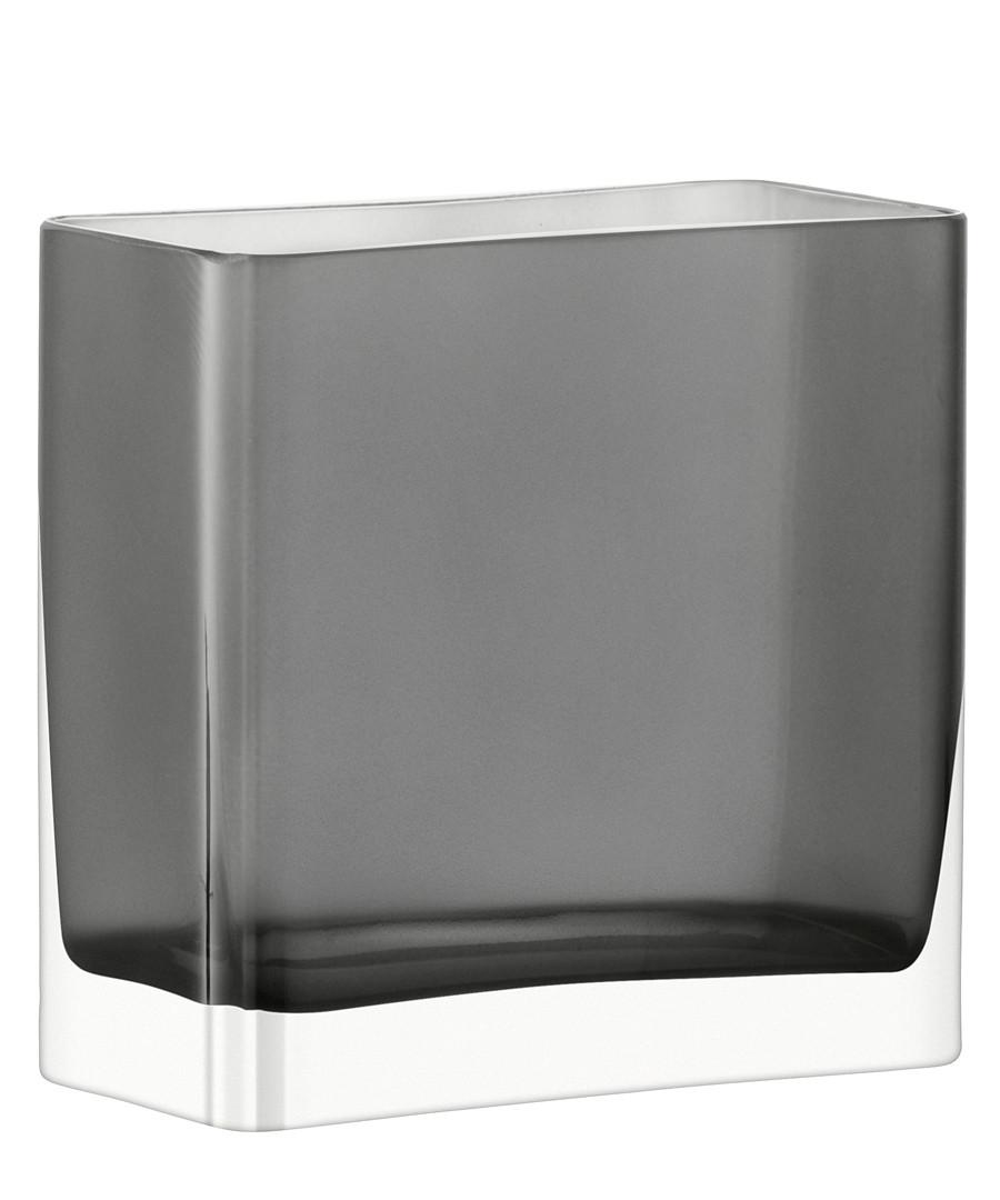 Modular slate glass vase 20cm Sale - lsa