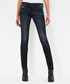 5620 Custom dark blue mid skinny jeans Sale - g-star Sale