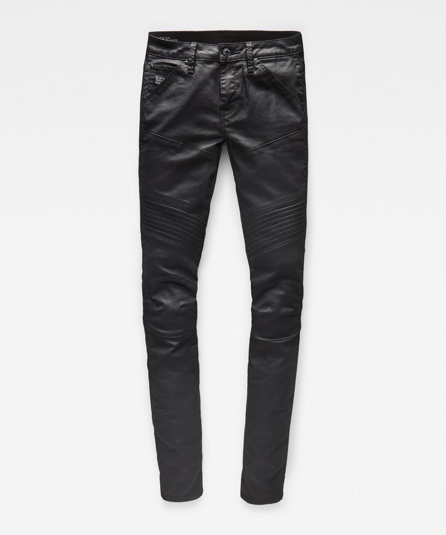 5620 Custom dark coated mid skinny jeans Sale - g-star