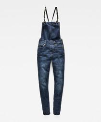3301 dark blue skinny overall