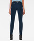 3301 dark blue high waist skinny jeans Sale - g-star Sale
