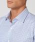 White & blue pure cotton checked shirt Sale - cloth by ermenegildo zegna Sale