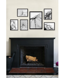 6pc framed painting prints