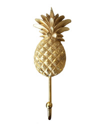 Gold-tone pineapple hook