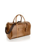 Cognac leather weekend bag Sale - woodland leathers Sale
