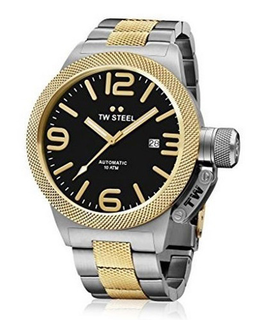 Two-tone & black stainless steel watch Sale - tw steel