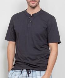 Men's Oliver grey knit top
