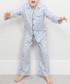 Boys' Oliver grey origami pyjama set Sale - cyberjammies Sale