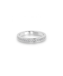 0.5ct diamond & white gold eternity ring