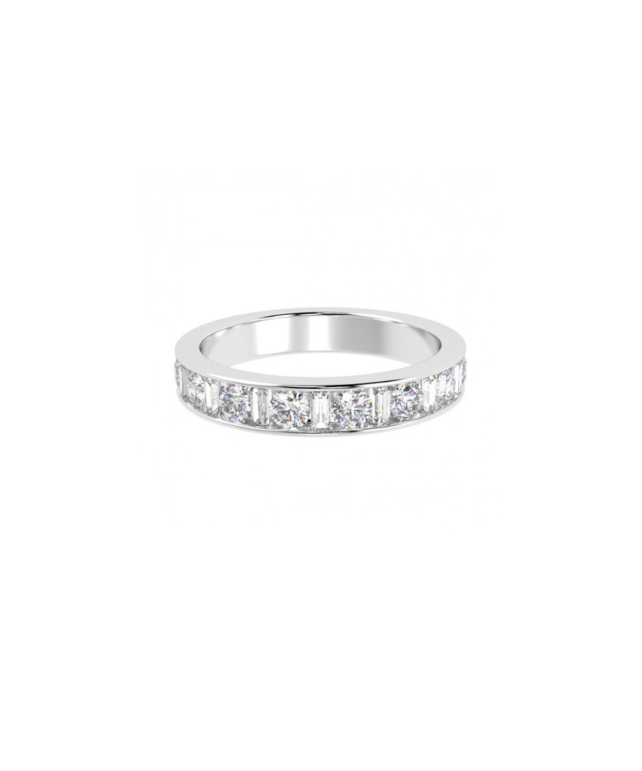 1ct diamond & white gold eternity ring Sale - Buy Fine Diamonds