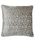 Compton mink velvet cushion 45cm Sale - riva paoletti Sale