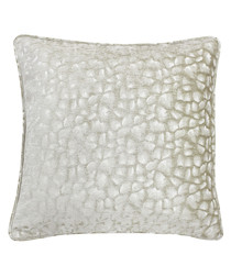 Compton natural velvet cushion 45cm