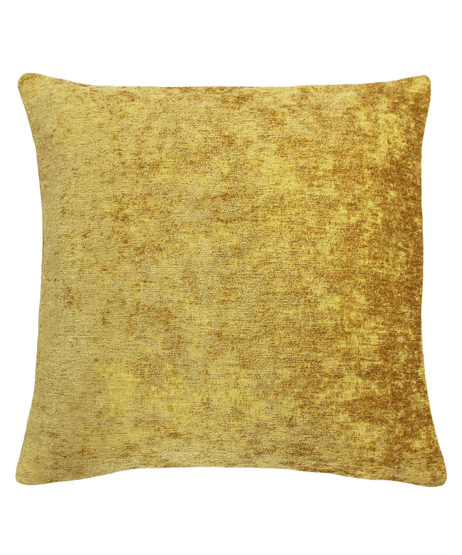 Hampton ochre cushion 50cm Sale - riva paoletti
