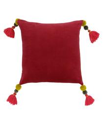 Poonam pomegranate tassel cushion 45cm