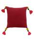Poonam pomegranate tassel cushion 45cm Sale - riva paoletti Sale
