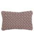 Kross blush cotton woven cushion 50cm Sale - riva paoletti Sale