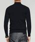 Black high neck jumper Sale - kuegou Sale
