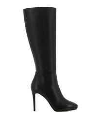 Hoxton 100 black stiletto boots