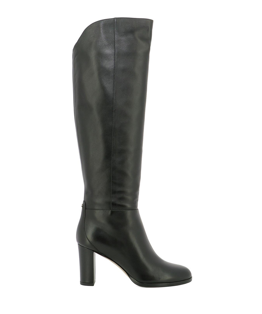 Madalie 80 black leather boots Sale - jimmy choo