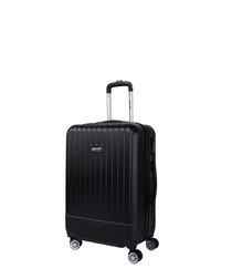 Spirit black spinner suitcase 56cm