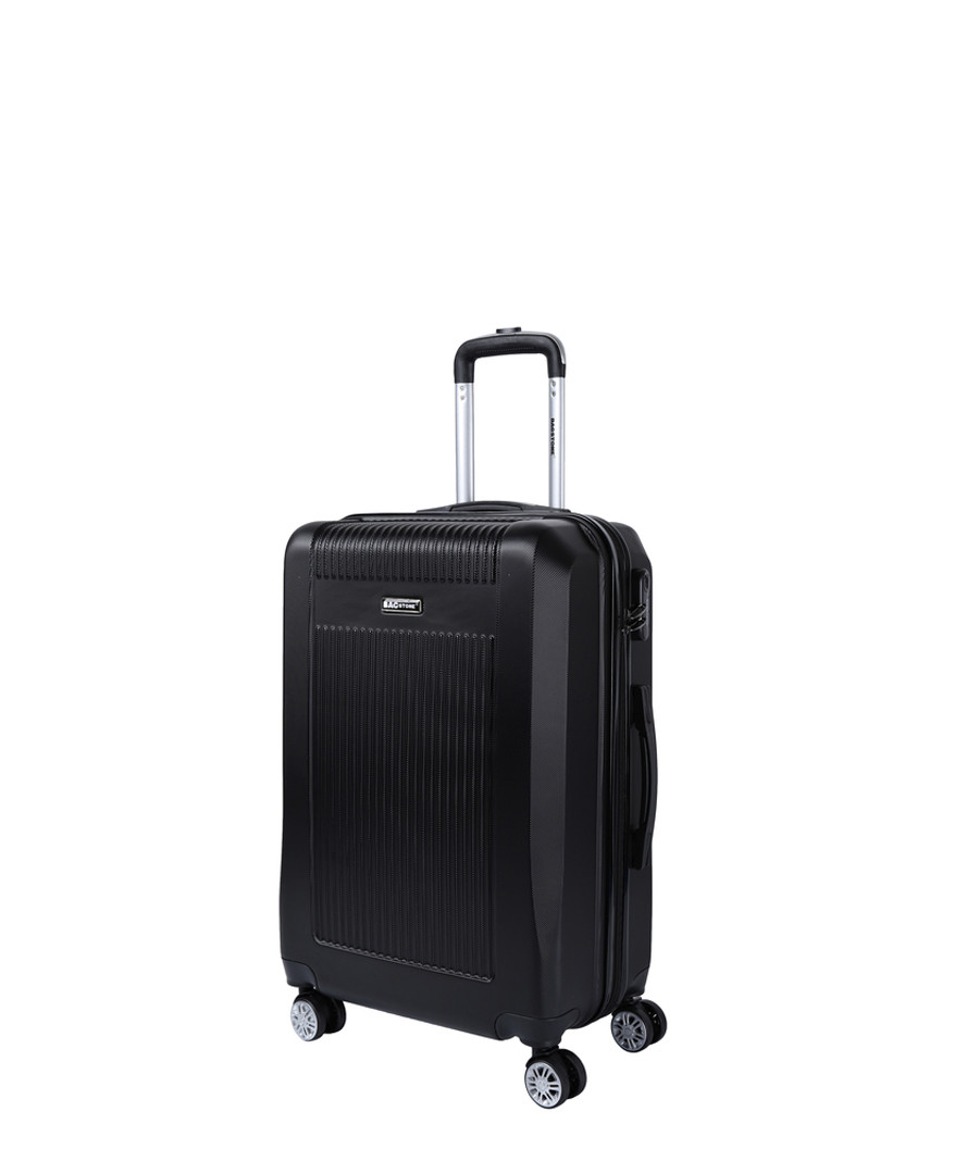 Paddy black spinner suitcase 66cm Sale - bagstone