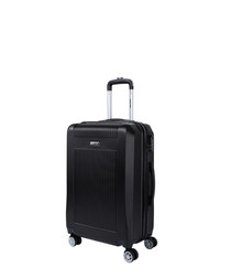 Paddy black spinner suitcase 66cm