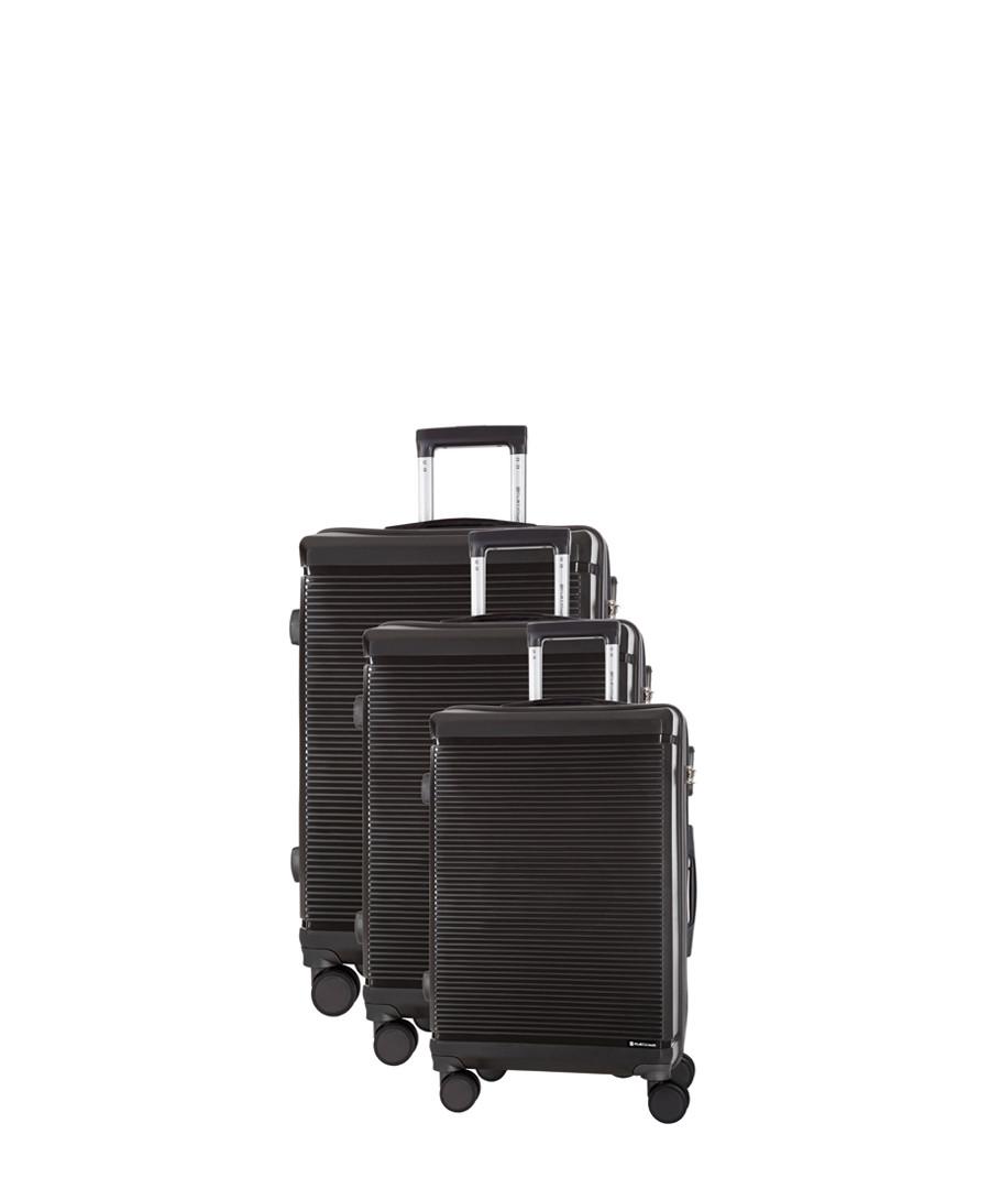 3pc Redhill grey spinner suitcase nest Sale - platinium