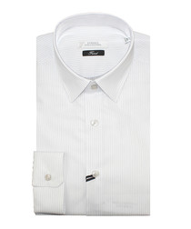 White pure cotton stripe shirt